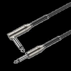 6.3mm mono plug - 6.3mm mono plug right angle Roxtone SAMURAI SGJJ110L10