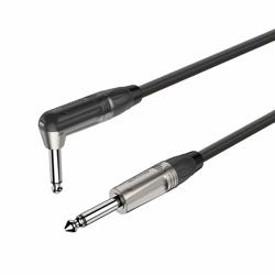 6.3mm right angle mono Jack plug - 6.3mm mono Jack plug  DGJJ110L5