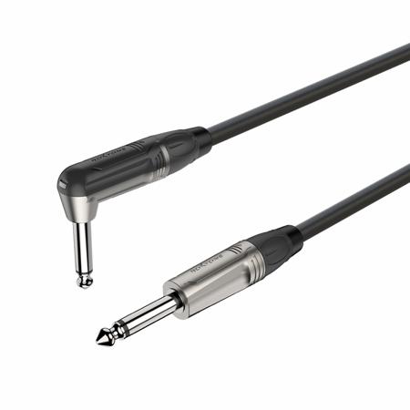 6.3mm right angle mono Jack plug - 6.3mm mono Jack plug DGJJ110L3