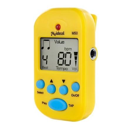 Metronom elektroniczny MEIDEAL M50 yellow