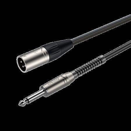 XLR 3-pole male - 6.3mm mono Jack plug SAMURAI SMXJ250L10