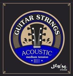 Struny do gitary akustycznej Jeremi 1048 ECO (10-48)