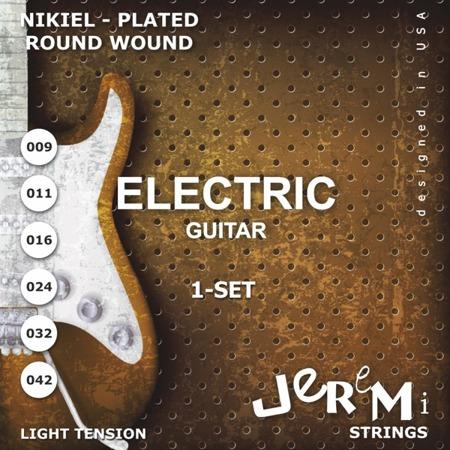 Struny do gitary elektrycznej EG0942 JEREMI (09-42)