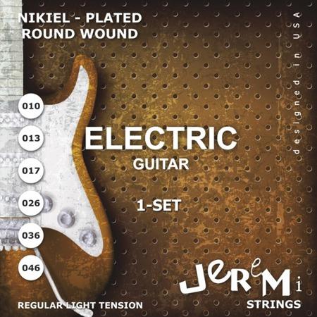 Struny do gitary elektrycznej EG1046 JEREMI (10-46)